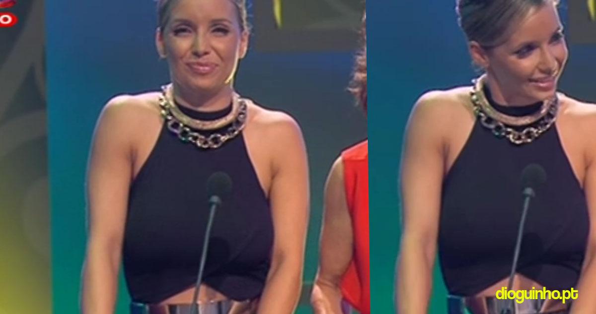 Photo of Luciana Abreu rappa em Coração d'Ouro (com vídeo)