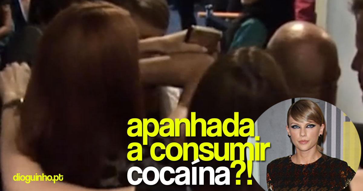 Photo of Taylor Swift é acusada de consumir cocaína nos MTV Video Music Awards. Já reagiu!
