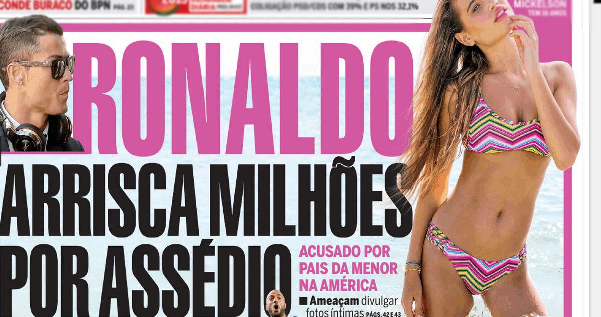 Photo of Cristiano Ronaldo desmente Correio da Manhã e vai avançar com processo
