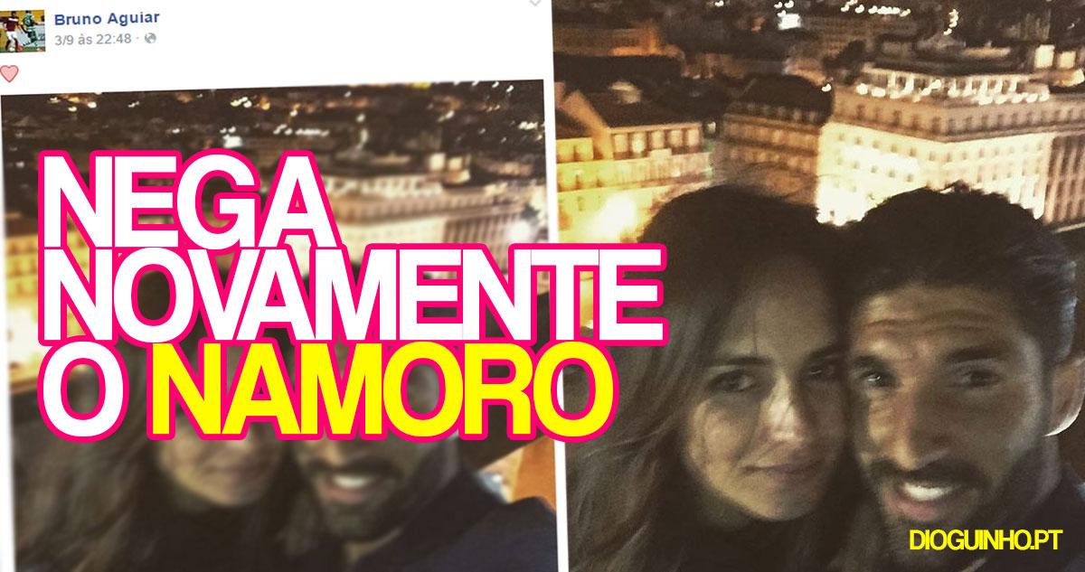 Photo of Lúcia Garcia bate novamente o pé e nega o namoro