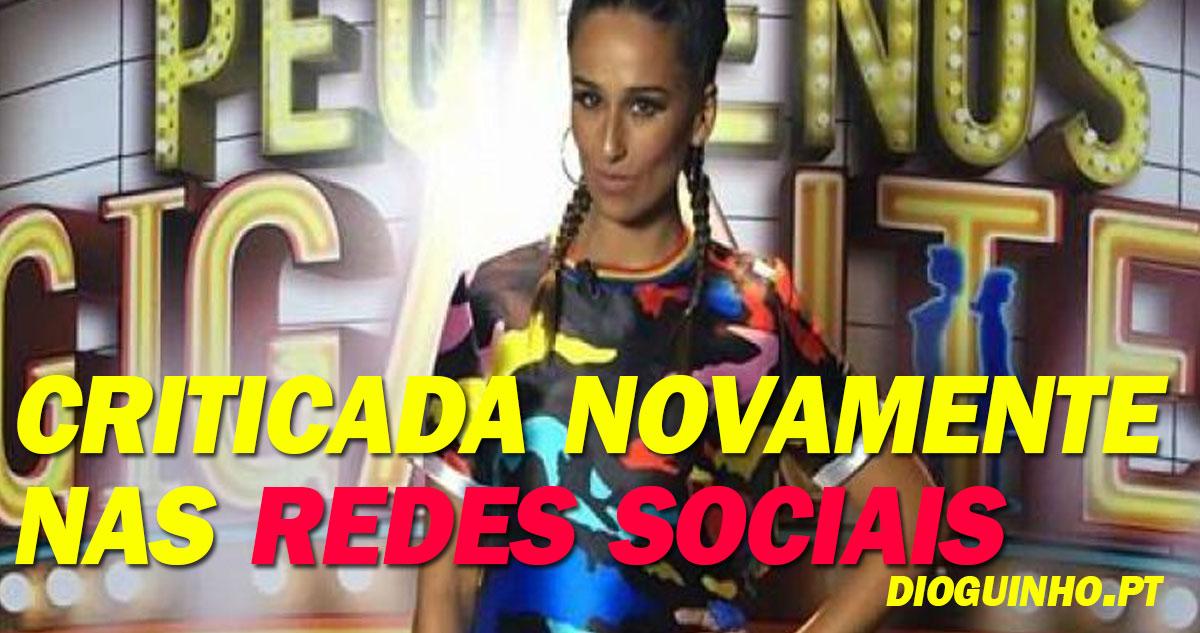 Photo of Rita Pereira é criticada por decisão no Pequenos Gigantes