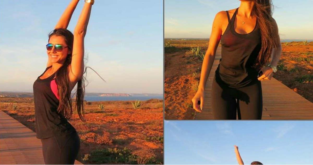 Photo of Kelly Baron está em forma e arrasa de bikini