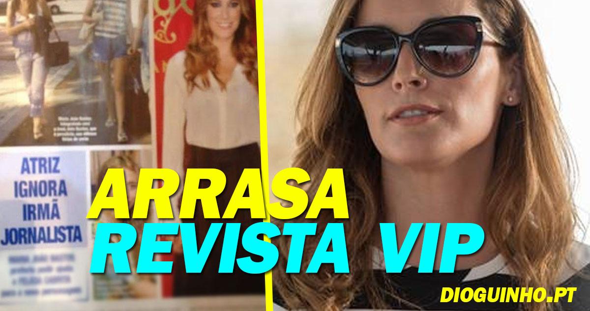 Photo of Maria João Bastos crítica e arrasa Revista VIP