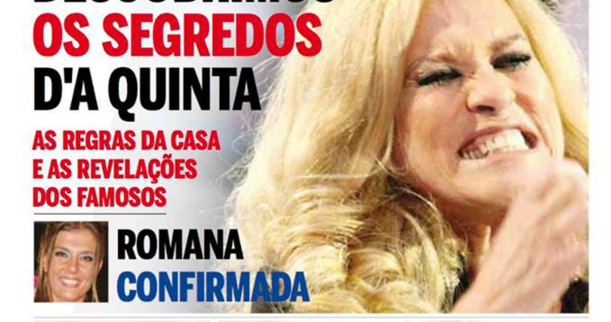 Photo of A Quinta: Revista revela segredos e Romana vai entrar