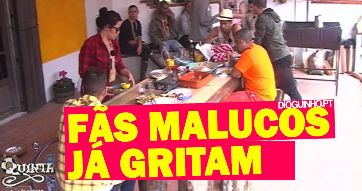 Photo of Fãs malucos já andam na Venda do Pinheiro aos gritos