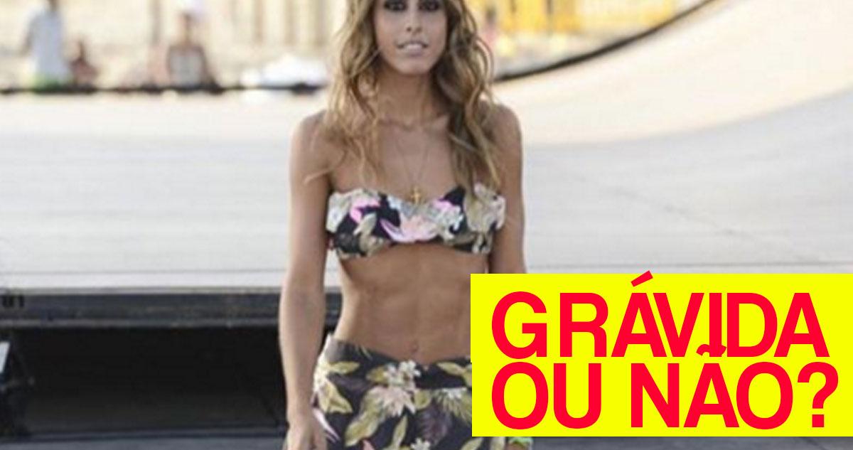 Photo of Carolina Patrocínio: Fotos com ou sem gravidez são iguais