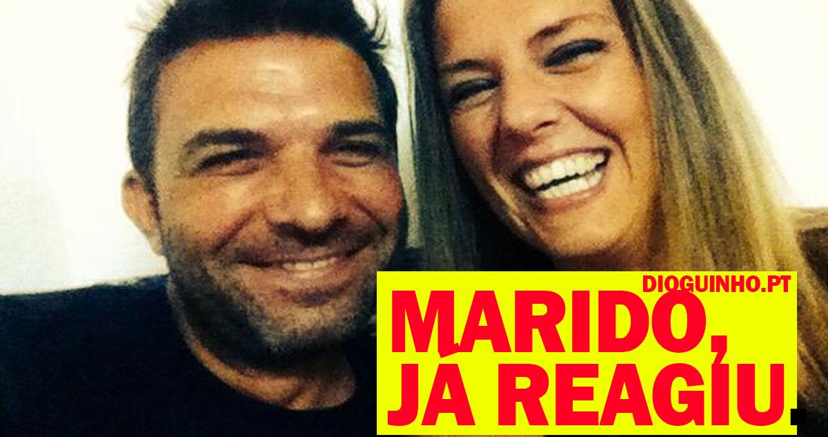 Photo of Marido da Romana já reagiu à cumplicidade dela com o Santiago