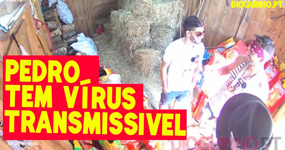 Photo of OMG: Pedro tem vírus transmissível que apanhou sexualmente