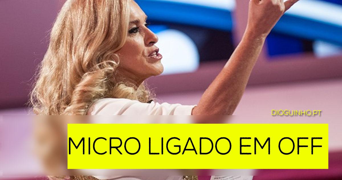 Photo of FAIL: Micro da Teresa Guilherme fica ligado em OFF
