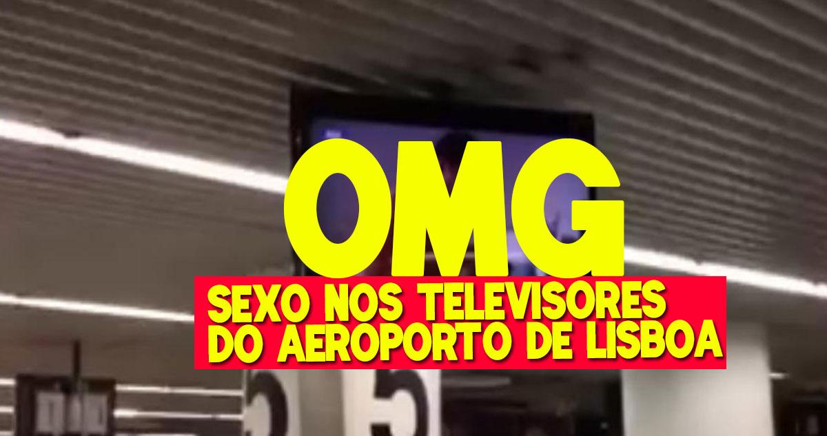 Photo of Televisores do Aeroporto de Lisboa mostraram pornografia. Já reagiram