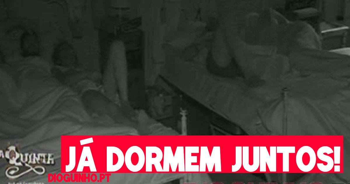 Photo of Santiago e Romana já dormem juntos como amiguinhos