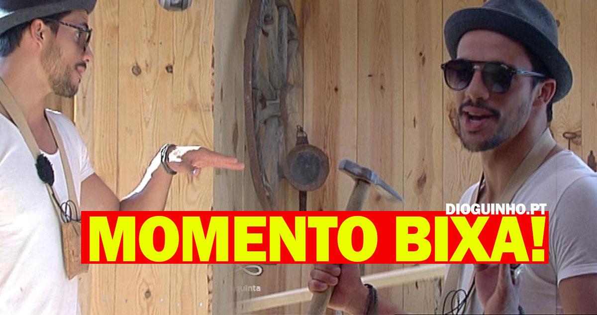 Photo of Pedro imita o Carlos Costa num momento 'BIXA'