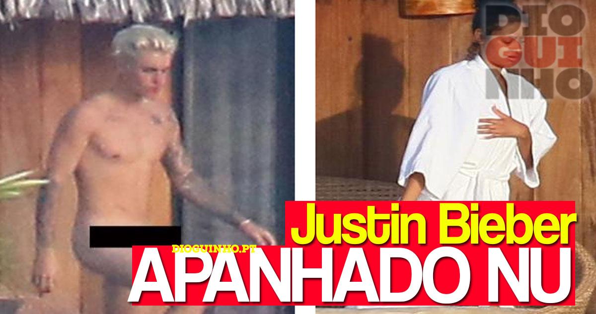 Photo of Justin Bieber apanhado completamente NU