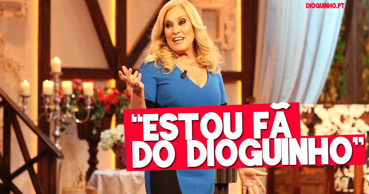 Photo of Teresa Guilherme confessa ser fã do Dioguinho