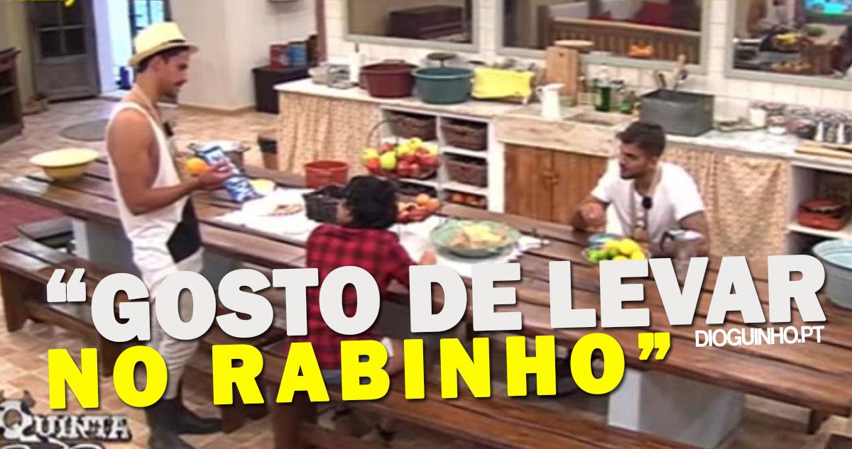 "Photo of Pedro (A Quinta) desabafa ""Gosto de levar no rabinho"""