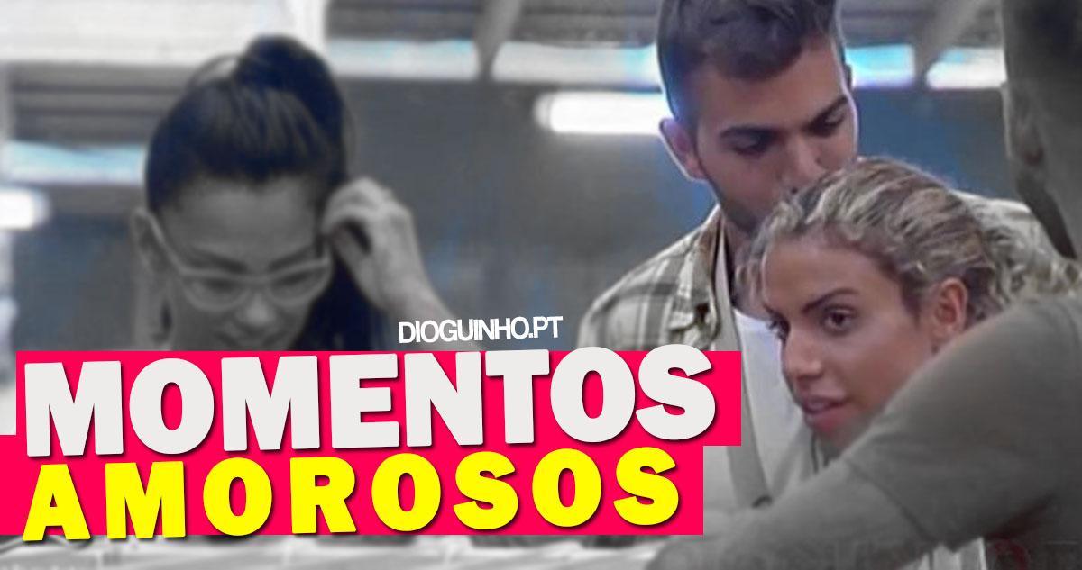 Photo of Rúben da Cruz dá beijo fofinho no Carlos Costa