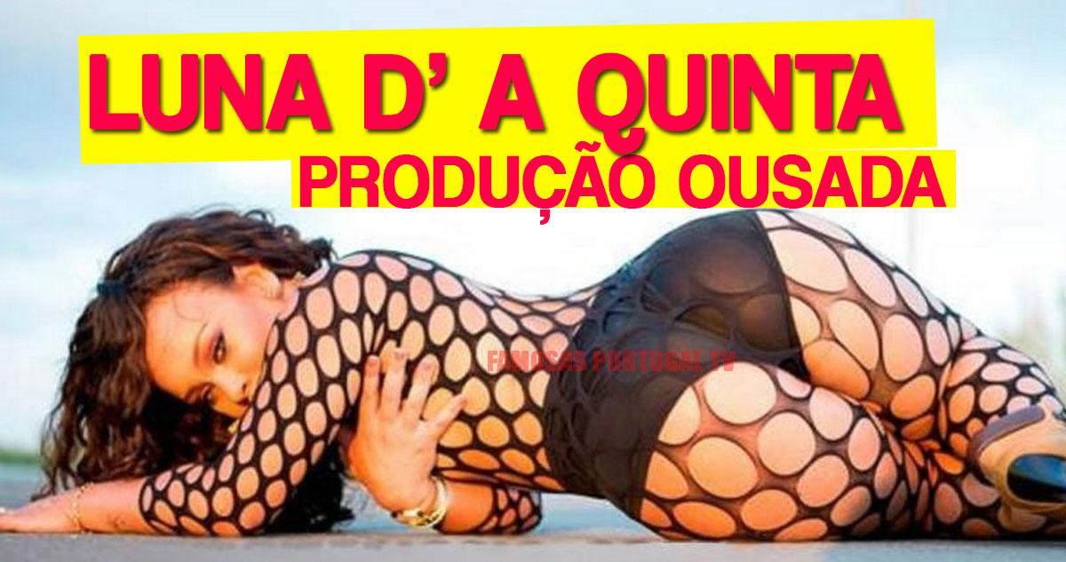 Photo of A Quinta: Luna Vambano numa sessão sensual