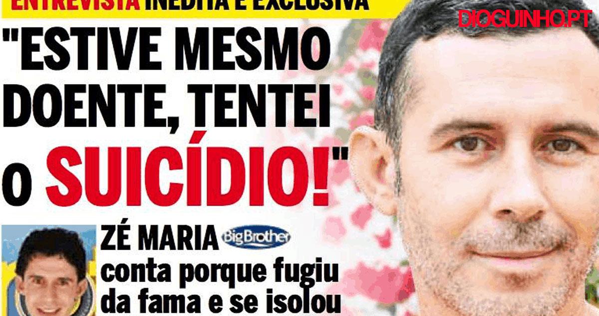 Photo of Zé Maria quebrou o silêncio e deu entrevista exclusiva à Mariana