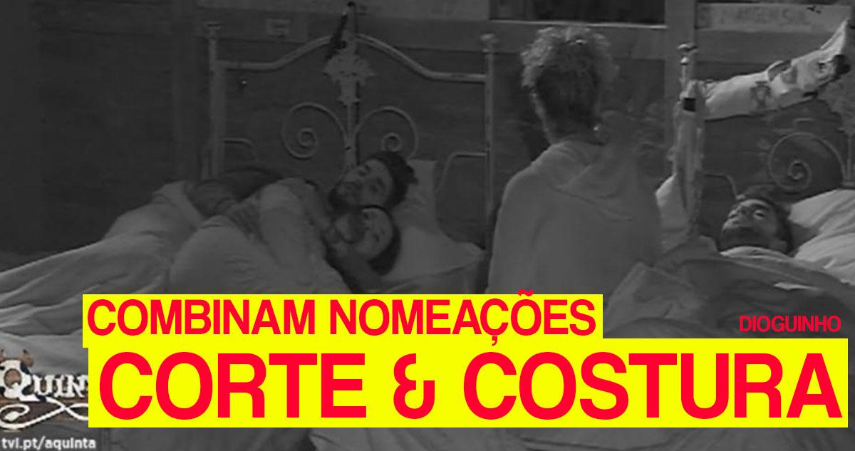 Photo of Carlos Costa, Marta e Quinaz: Corte & Costura e combinam nomeações