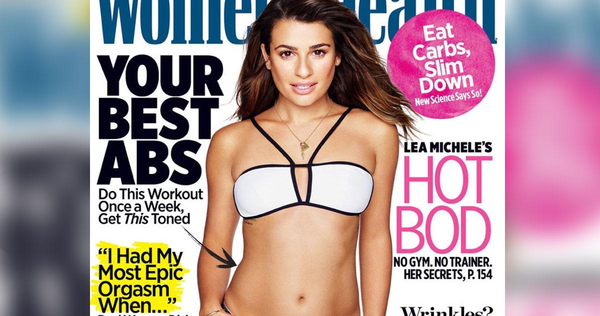 Photo of Lea Michele mostra sua boa forma na Women`s Health