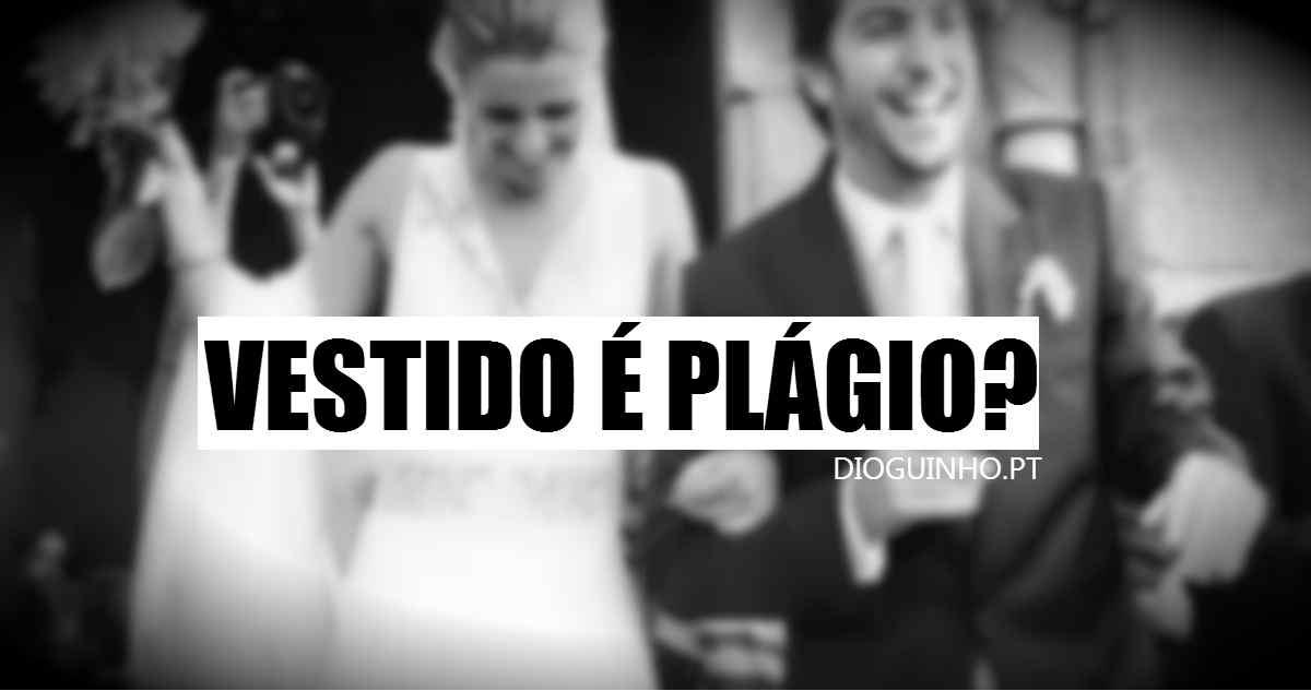 Photo of Vestido de casamento de Diana Bouça-Nova é plágio?