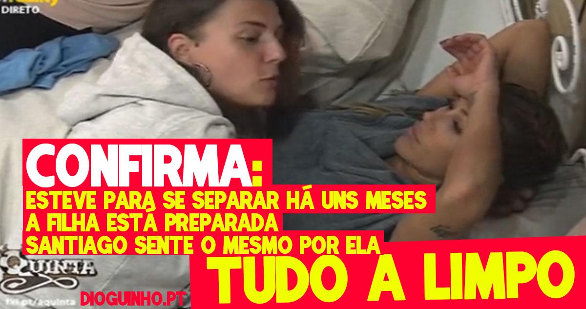 Photo of Romana e Merche metem tudo a limpo sobre a paixão com Santiago