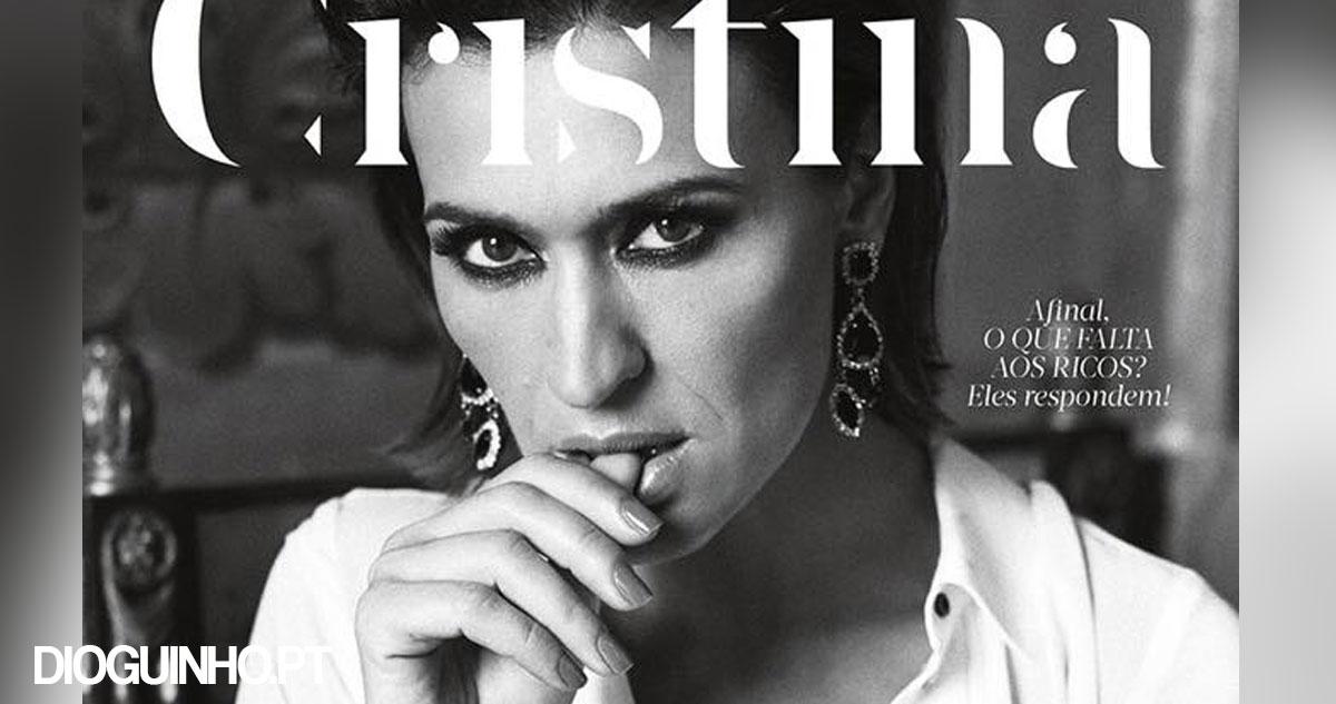 Photo of Revista Cristina: Capa deste mês é a Fátima Lopes… mas vestida claro!