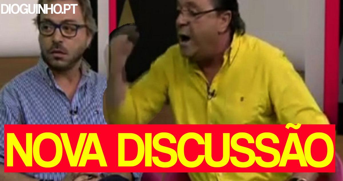 Photo of João Malheiro e Duarte Siopa discutem novamente em directo