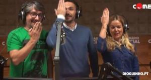 """Vasco Palmeirim canta o """"Pisca Pisca"""" para António Costa"""