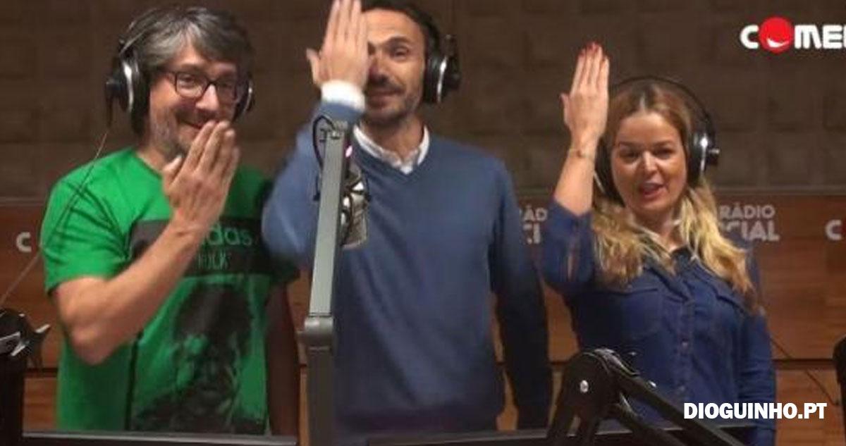 """Photo of Vasco Palmeirim canta o """"Pisca Pisca"""" para António Costa"""