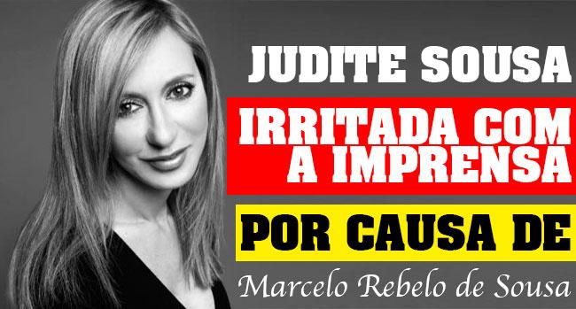 Photo of Judite Sousa revoltada com a imprensa por causa de Marcelo
