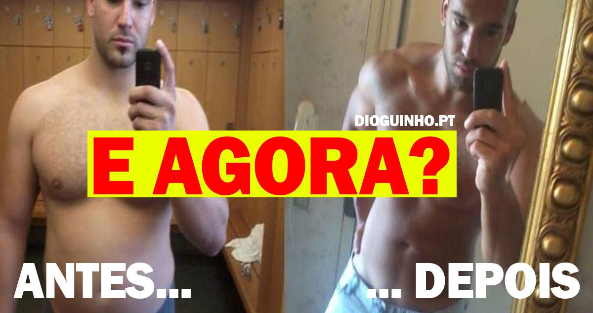 Photo of Bruno Nunes passou de gordo a um corpo bem definido