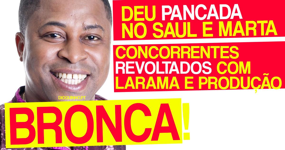 Photo of Larama deu PANCADA no Saul e Marta. Concorrentes estão revoltados com a produção