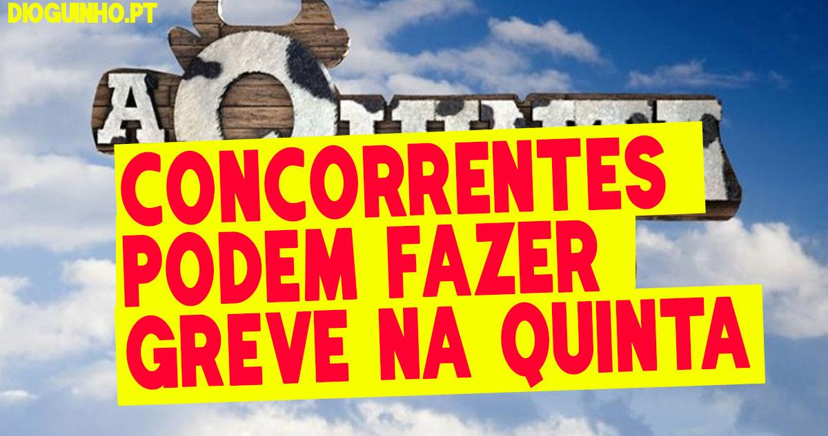 Photo of Concorrentes já pensam fazer greve n' A Quinta até que a Endemol faça algo ao Larama