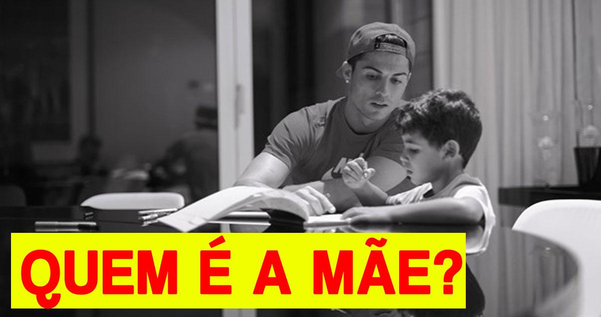 Photo of Cristiano Ronaldo vai dizer ao filho quem é a mãe