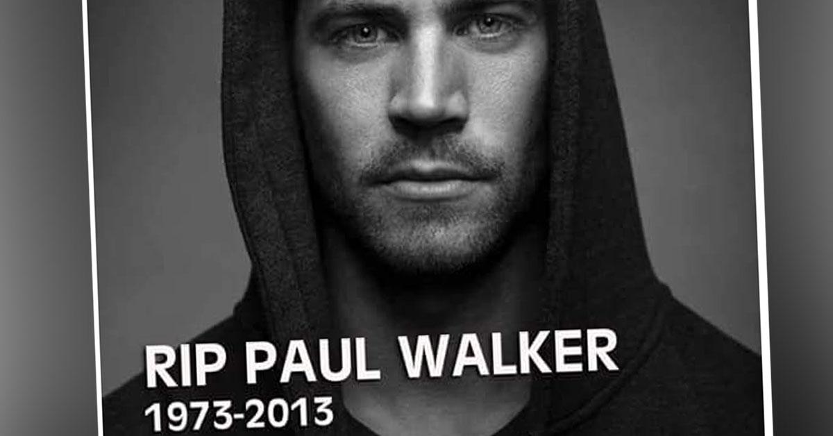 Paul Walker morreu há dois anos