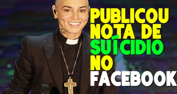 Police rush to Sinead O'Connor's hotel room after she posted 'suicide note' on Facebook