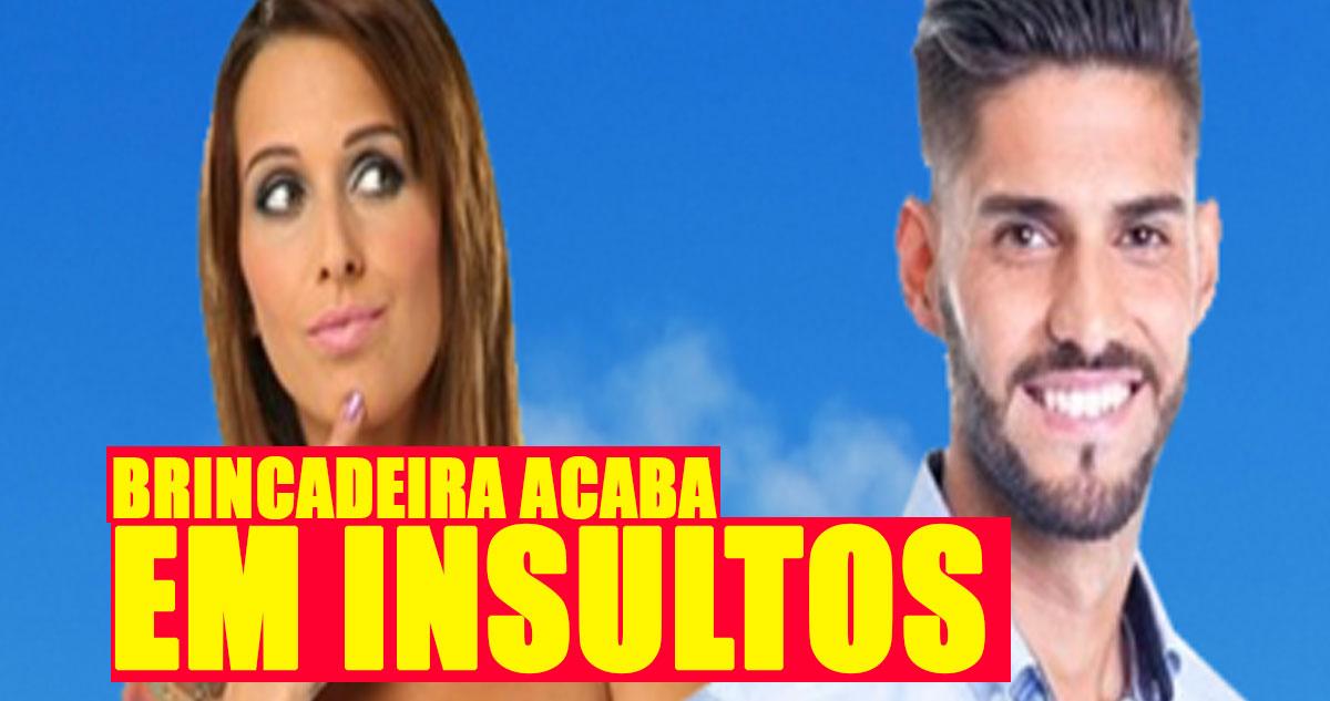 Photo of Brincadeira com penico deu BARRACO e muitos INSULTOS da parte de Érica Silva