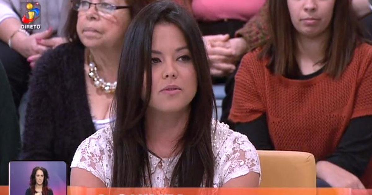 Photo of Angélica Jordão esteve esta manhã no «Você na TV» após ser expulsa