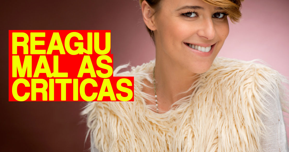 Photo of Leonor Poeiras reagiu mal às criticas após a bronca