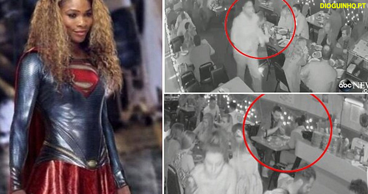 The moment Superwoman Serena leapt from her date with Reddit founder and sprinted out of crowded restaurant to catch thief who stole her cell phone