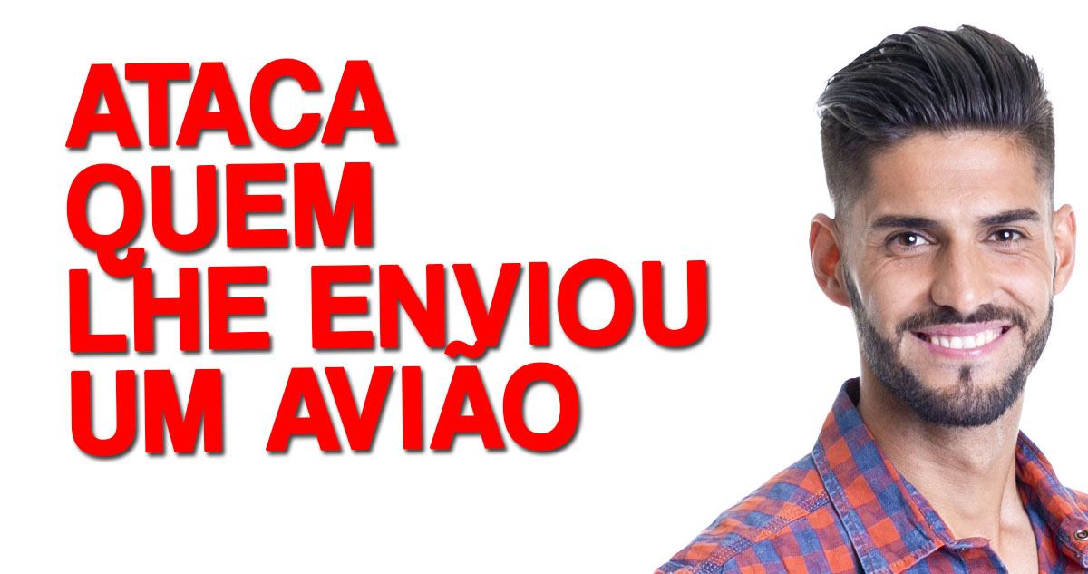 Photo of Gonçalo Quinaz ataca quem lhe enviou um avião negativo