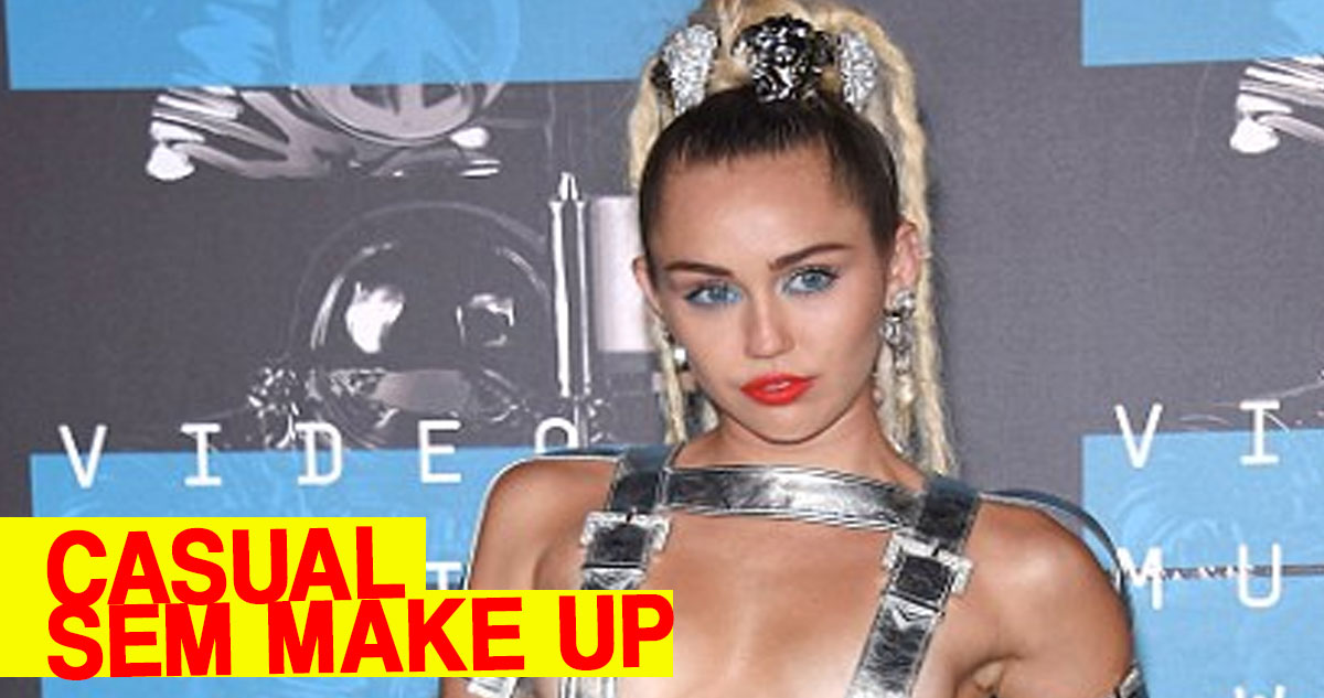 Makeup-free Miley Cyrus ditches her usual outlandish outfits