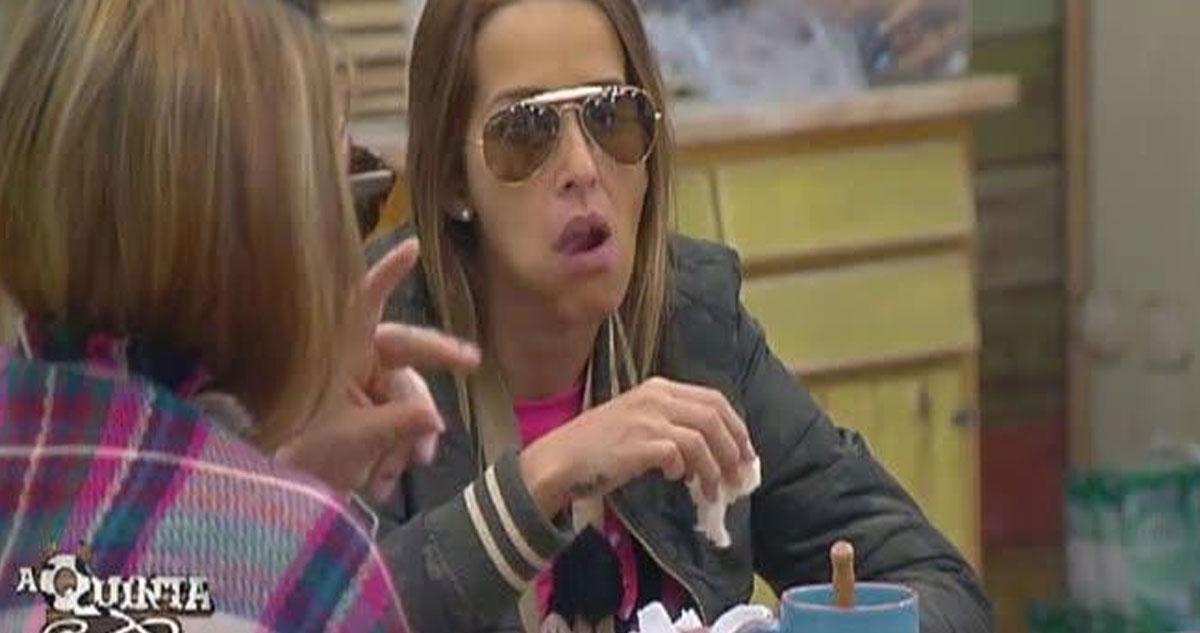 Érica Silva quer desistir