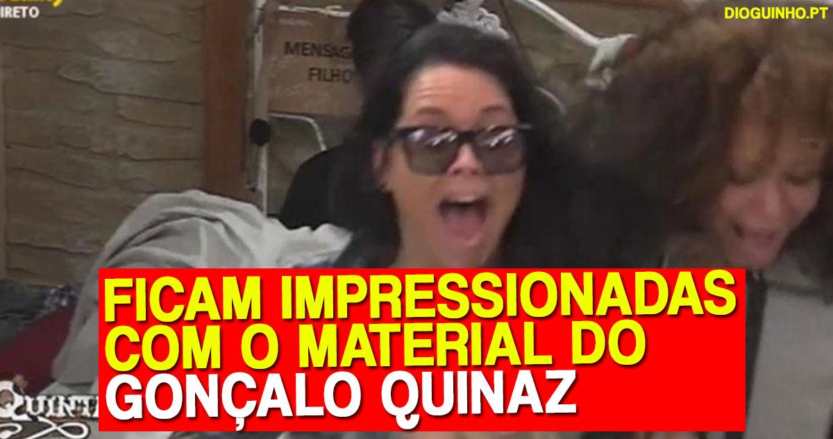Photo of Gonçalo Quinaz surpreende as mulheres d' A Quinta porque é abonado