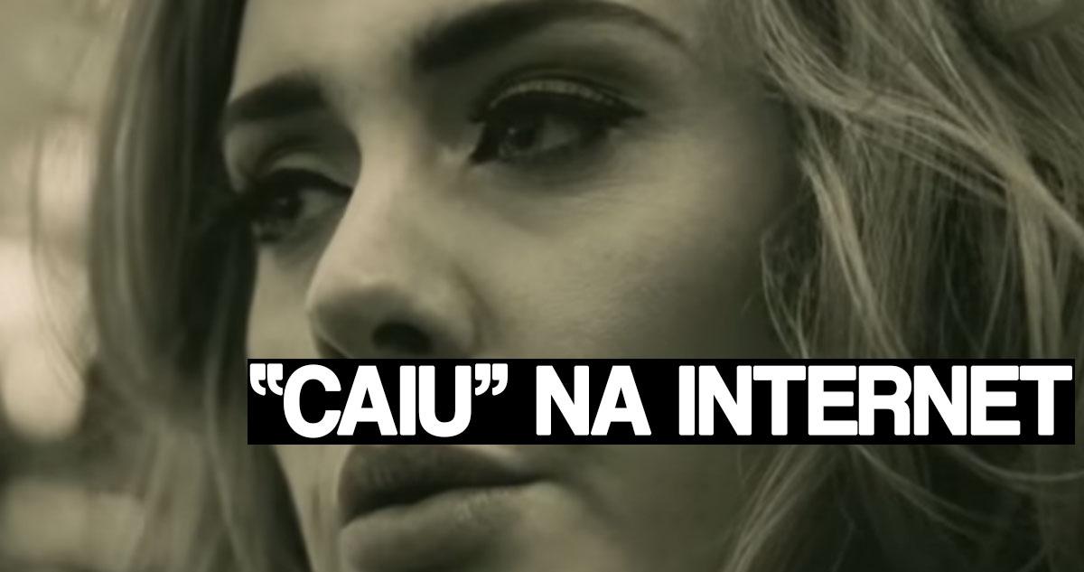 Photo of Novo álbum de Adele já caiu na Internet antes de ser lançado