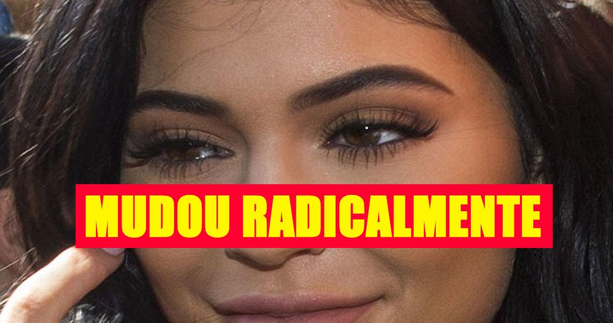 Photo of Kylie Jenner mudou radicalmente o rosto em apenas 2 anos