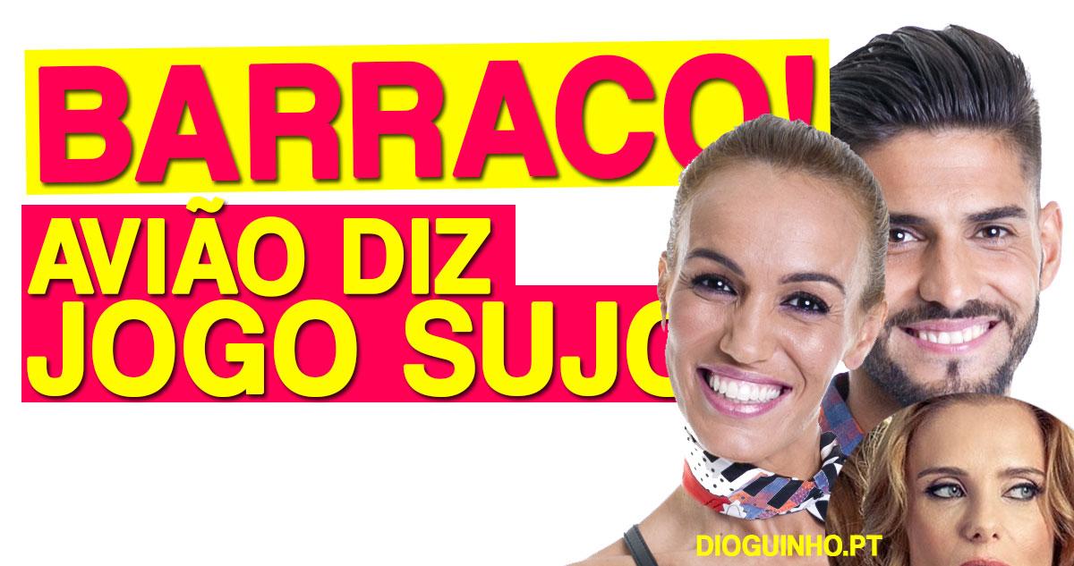 """Photo of Passa avião com mensagem forte para Quinaz e Liliana """"Jogo Sujo"""""""