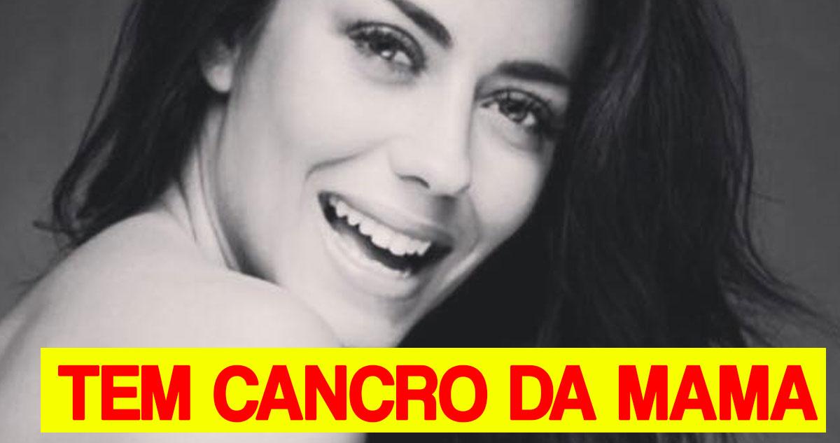 Photo of Sofia Ribeiro tem cancro da mama