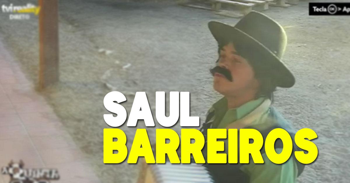 Photo of Saúl Barreiros anima a quinta com «O bacalhau quer alho»